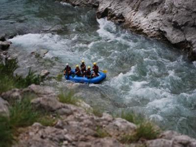 Canyoning rafting verdon